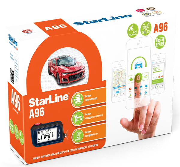 Автосигнализация StarLine A96 2CAN+2LIN