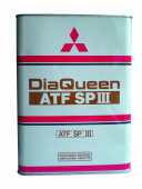 Масло Mitsubishi ATF DiaQueen SPIII, 4л