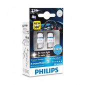 Лампы W2.1x9.5d (led) Philips 8000K 2шт.