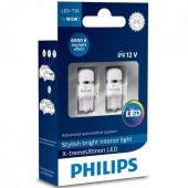 Лампы W2.1x9.5d (led) Philips Warm White 4000K 2шт.