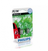 Лампы BA15s (P21W) Philips Long Life Eco Vision 2шт.